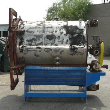Filtration Equipment 550 sq.ft. US Filter Co. vertical leaf filter model Auto-Jet 400, 304 SS