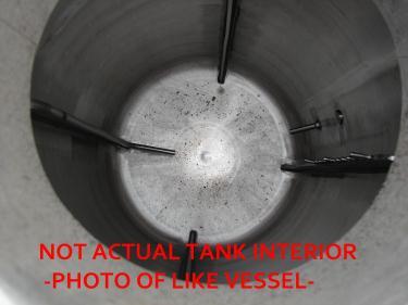 Reactor 50 gallon HC Hicks & Sons chemical reactor, 50 psi internal, 125 psi jacket, 3/4 hp agitator
