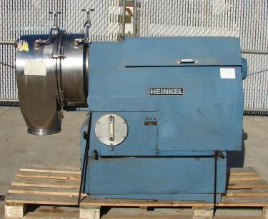 Centrifuge 300mm Heinkel inverting filter centrifuge model HF300, 3460 rpm, Hastalloy