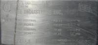 Kettle 1000 gallon Lee hemispherical bottom kettle, anchor sweep agitator, 90 psi jacket rating, Stainless Steel