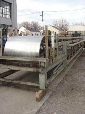 Flaker Sandvik belt flaker 47.5 width, 40 length, Stainless Steel Contact Parts