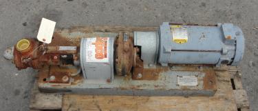 Pump 1.5 inlet Viking positive displacement pump model HL-4625, 1.5 hp, CS