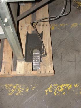 Case Sealer Soco top and bottom case taper model T-100, speed 30 cpm