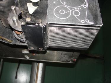 Labeler Label-Aire pressure sensitive labeler model 2111M, blow on, 1500 fpm