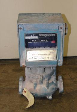 Valve 1 Neptune model 831 liquid flow meter, Brass