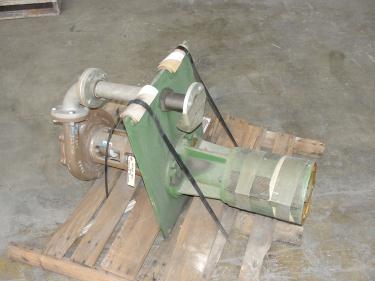 Pump 3x2x8.875 Deming vertical centrifugal pump model 5562/2M, 316 SS
