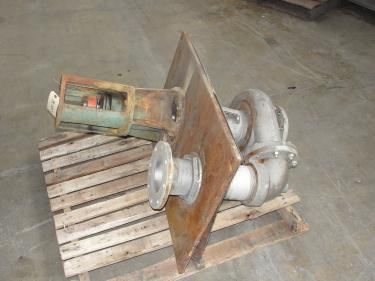 Pump 5x4x9.5 Deming vertical centrifugal pump model 5562/4MD, 316 SS