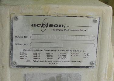 Feeder 6 Acrison screw feeder 6, Stainless Steel Contact Parts
