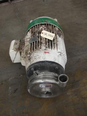 Pump 3x2.5x8.687 Waukesha centrifugal pump, 50 hp, Stainless Steel