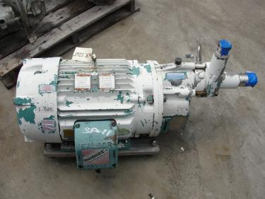 Pump Sundyne centrifugal pump, 30 hp, 316 SS