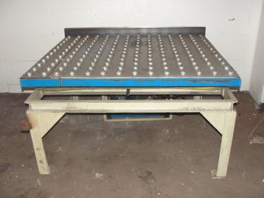 Material Handling Equipment scissor lift table, 2000 lbs. Advance Lifts Inc model AL-236, 55.5 x 48 platform