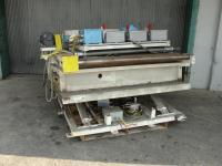 Conveyor 51 w x 58 l size BlueARC powered roller conveyor CS
