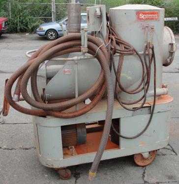 Miscellaneous Equipment 5 hp Spencer industrial vacuum cleaner model P-142