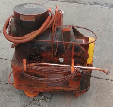 Miscellaneous Equipment 5 hp Spencer industrial vacuum cleaner model P-142