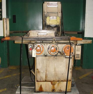 Machine Tool 6 x 18 Brown and Sharpe surface grinder model 618 Micromaster