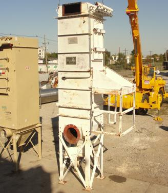 Dust Collector 236 sq.ft. Mikro-Pulsaire reverse pulse jet dust collector