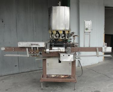 Capping Machine Consolidated screw capper model TG-10, 58 mm