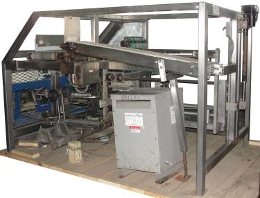 Case Packer Fallas drop case packer model 150 NDX