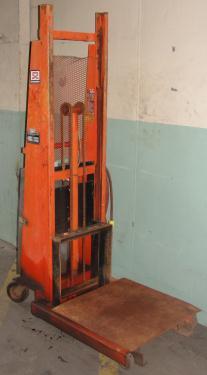 Material Handling Equipment 1500 lbs capacity Economy drum lift model CWK-72, 72 lift height