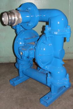 Pump 3 Warren-Rupp/ Sandpiper diaphragm pump, Aluminum