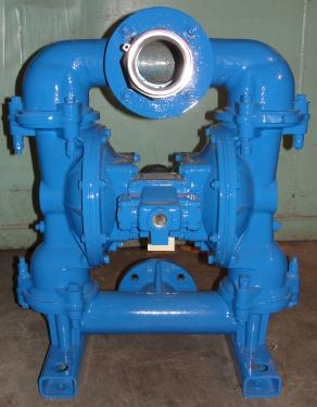 Pump 3 Warren-Rupp/ Sandpiper diaphragm pump, Aluminum