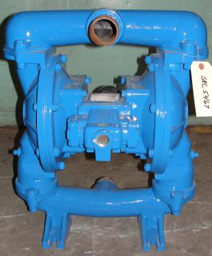 Pump 2 Warren-Rupp/ Sandpiper diaphragm pump, Aluminum