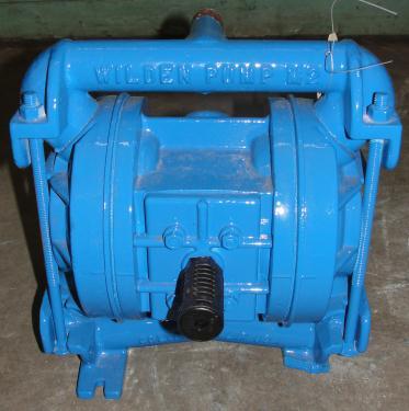 Pump 3/4 Wilden diaphragm pump, Aluminum
