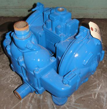 Pump 1.5 Warren-Rupp/ Sandpiper diaphragm pump, Aluminum