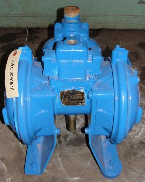 Pump 1.5 Warren-Rupp/ Sandpiper diaphragm pump, Aluminum