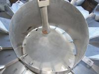 Scale 14 bucket Yamato multihead combination weigher model ADW-323-RB, Stainless Steel Contact Parts, 8 to 1600 grams weigher capacity