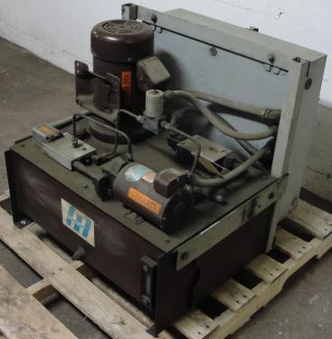 Pump 5 hp Autoquip hydraulic power unit, 23 gallon reservoir tank