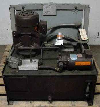 Pump 5 hp Autoquip hydraulic power unit, 23 gallon reservoir tank
