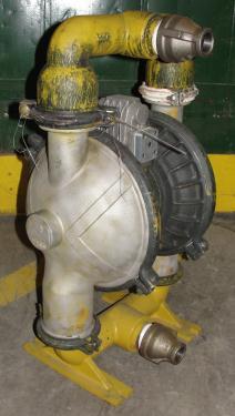 Pump 2 Versa-Matic diaphragm pump, Aluminum