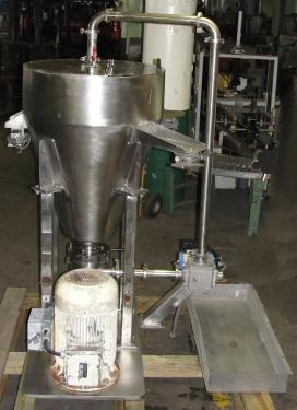 Mill 25 hp Meprotec colloid mill Stainless Steel
