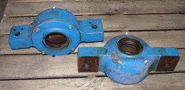 Pulverizer spare part, Hosokawa model 8MA rotor and bearings, Stainless Steel
