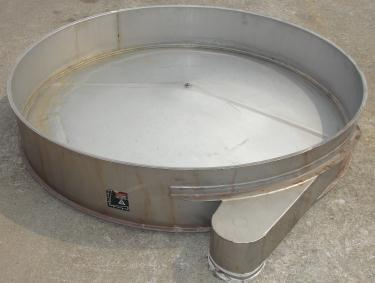 Screener and Sifter spare part, Kason 72 Base Deck, Stainless Steel