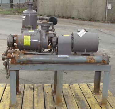 Pump 76 cfm Nash vacuum pump model SC-2 10 hp, CS