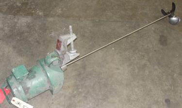 Agitator .3 hp electic Lightnin clamp-on agitator, model XD-30