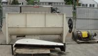 Mixer and Blender 60 cu. ft. capacity ribbon blender, 15 hp, Stainless Steel