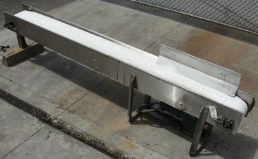 Conveyor Nercon belt conveyor Stainless Steel, 10 wide x 10 long
