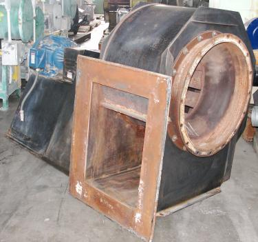 Blower 5500 cfm centrifugal fan American Fan Co model BI-245, 15 hp, CS