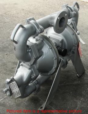 Pump 3 Warren Rupp/SandPiper diaphragm pump, Aluminum