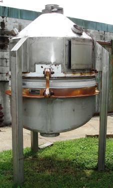 Bin Vibra Screw Inc, live bin bottom, Stainless Steel