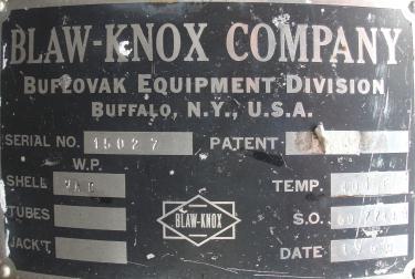 Evaporator rising falling film evaporator, Stainless Steel