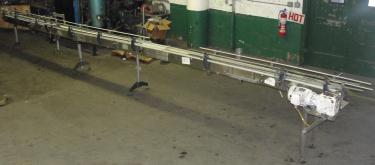 Conveyor table top conveyor Stainless Steel, 9 x 27