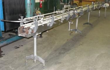 Conveyor 9 x 27 table top conveyor 50 fpm speed
