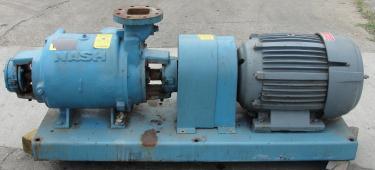 Pump 450 cfm Nash vacuum pump model SC-5 25 hp, CS