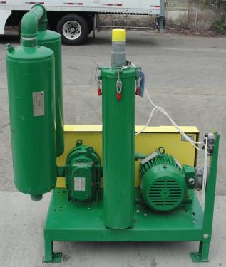Blower 67 cfm, positive displacement blower Vac-U-Max, 3 hp