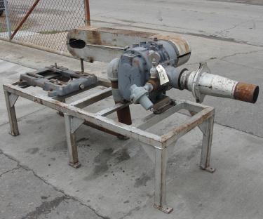 Blower 200 cfm, positive displacement blower Schwitzer