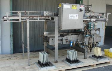 Case Packer Climax drop case packer model DP3, up to 15 cpm